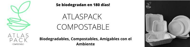 AtlasPack Compostable | Proveedores de contenedores de alimentos