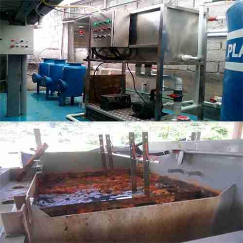 Planta de aguas residuales. Electrocoagulación. BiozoneO3