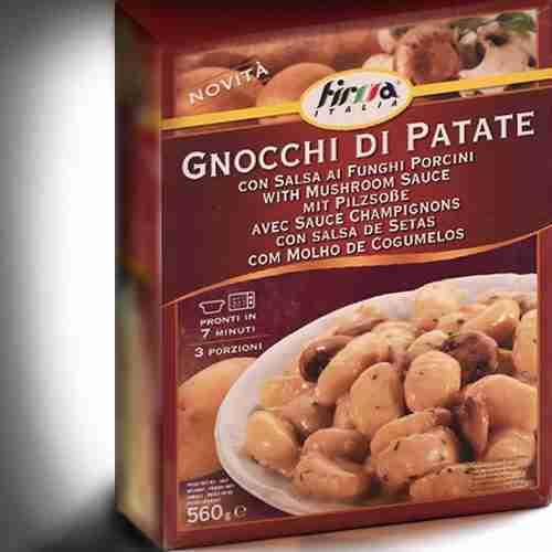 Gnocchi FIRMA ITALIA. Cusimano Import. Hostelería Ecuador