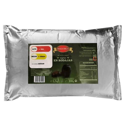 Dibeal | Aceituna Negra Rodajas (Pouch)