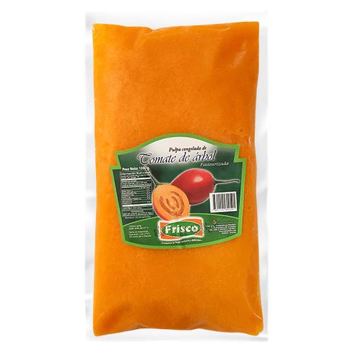 Pulpa pasteurizada de tomate de árbol
