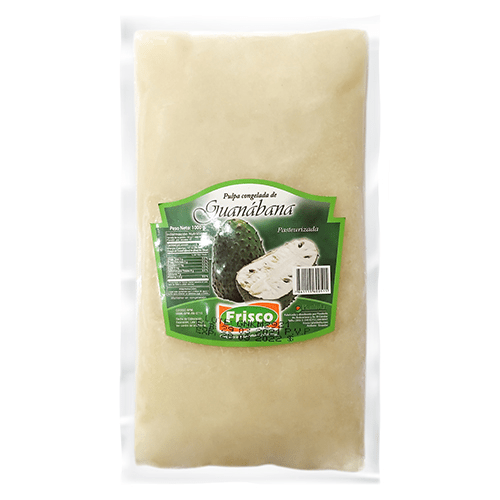 Pulpa pasteurizada de guanábana