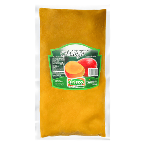 Pulpa pasteurizada de mango