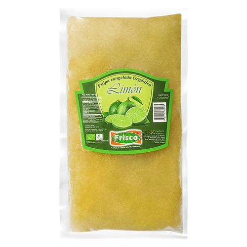 Pulpa pasteurizada de limón orgánico