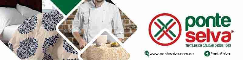 Ponteselva | Lencería hotelera | uniformes para restaurantes