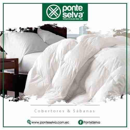 Ponte Selva | Proveedores de cobertores y sabanas para hoteles | Hostelería Ecuador