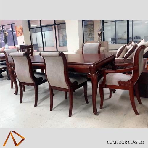 Comedores Clásico | Proveedores de mobiliario hotelero