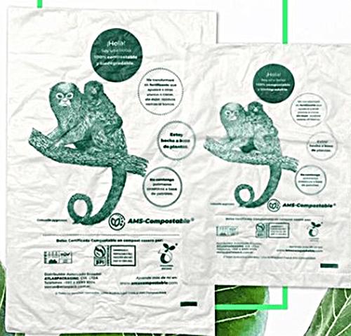 Rollo de bolsa plana 20 x 30cm   Fundas biodegradables   Proveedores de fundas de empaque