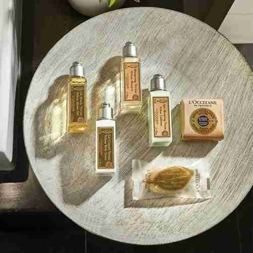Amenities L'OCCITANE | Proveedores de amenities para hoteles | BFS Group
