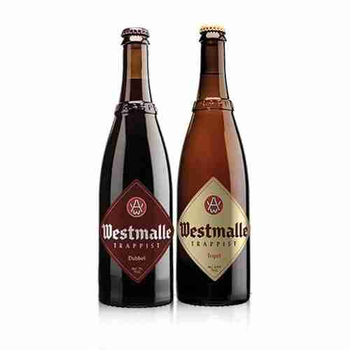 Cervezas Westmalle pequeñas