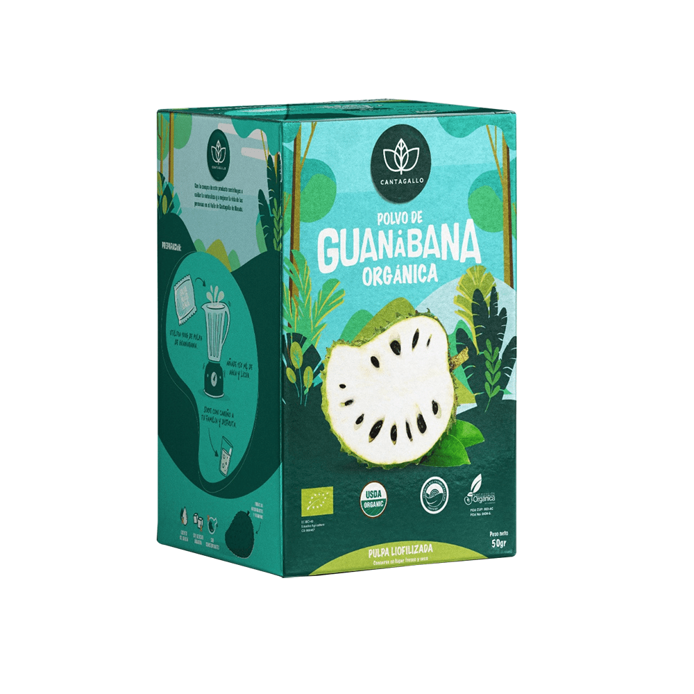 Polvo de guanábana orgánica