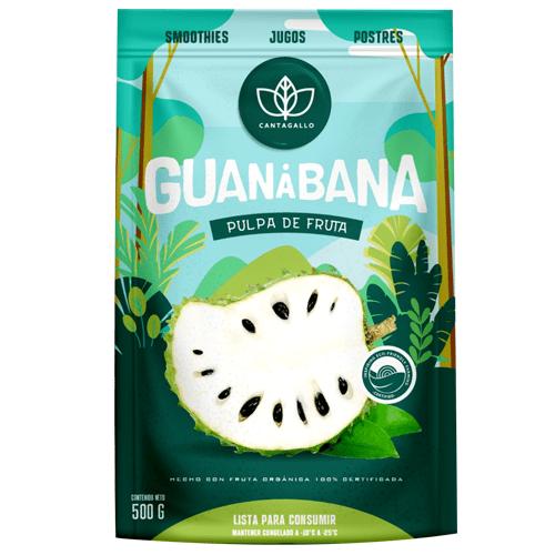 CANTAGALLO | Pulpa congelada de guanábana