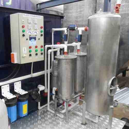 Planta compacta potabilizadora de agua. Biozone O3. Tratamiento de agua para hoteles y restaurantes