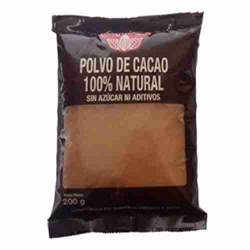 Polvo de Cacao 100% natural