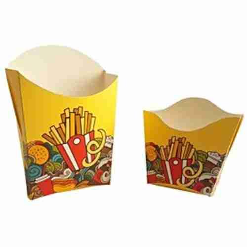 Cajas para papas fritas. Carsnack