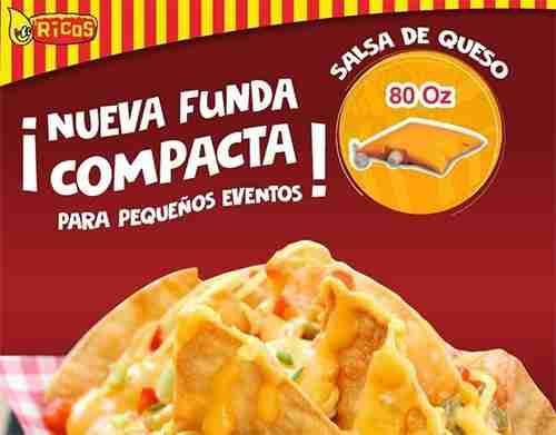 Salsa de queso cheddar Ricos