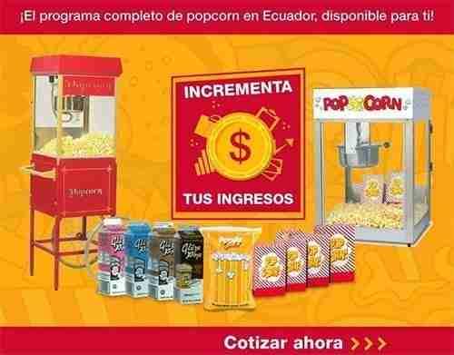 Programa de popcorn | Carsnack