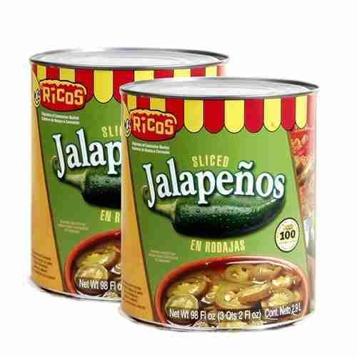 Sliced Jalapeños en rodajas