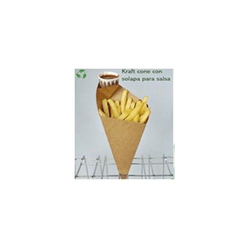 Cono Kraft Large Frite