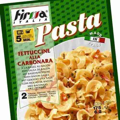Fettuccine alla carbonara - Firma italia