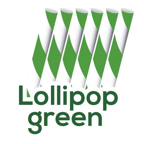 Sorbetes de Papel Flexible Lolliop Green | estrella siempre limpio | hosteleria ecuador