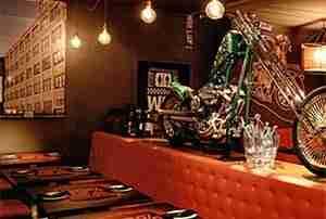 El diseño de un restaurante. Hostelería Ecuador