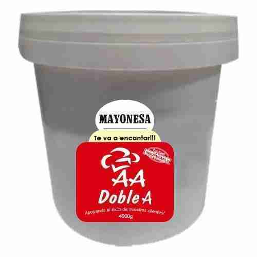 Mayonesa Doble A 4000g