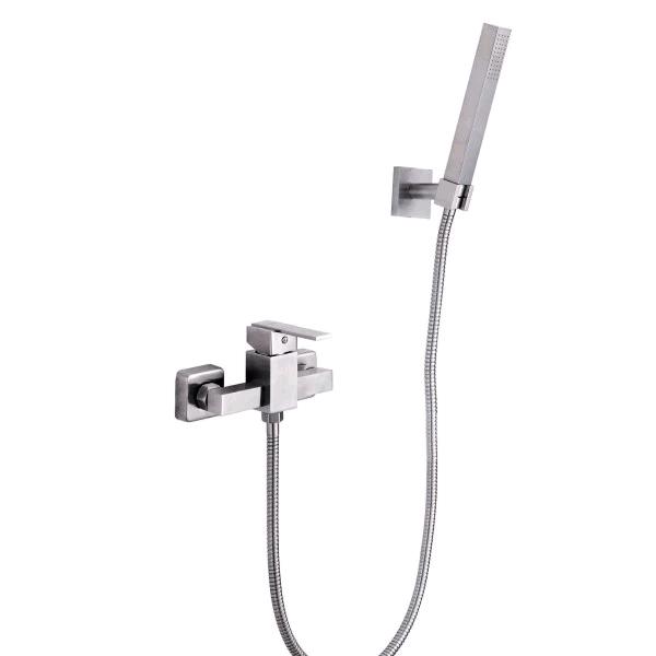 Fluxómetro Livorno Inox monomando externa para ducha | Edesa