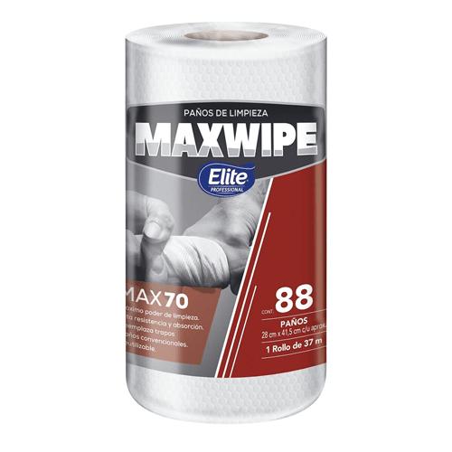 Paño reutilizable Maxwipe x70 , 88 paños por rollo