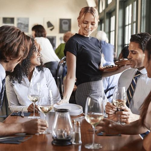 Contagio de coronavirus en restaurantes