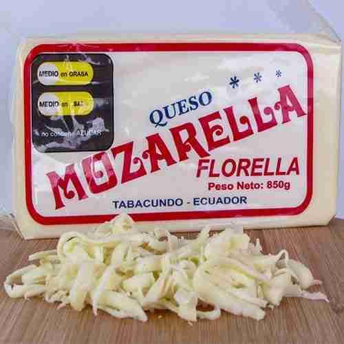 Queso Mozarella Florella | Proveedor de queso mozarella | Hosteleria Ecuador