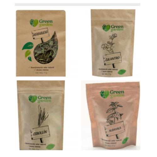 Hierbas aromáticas deshidratadas