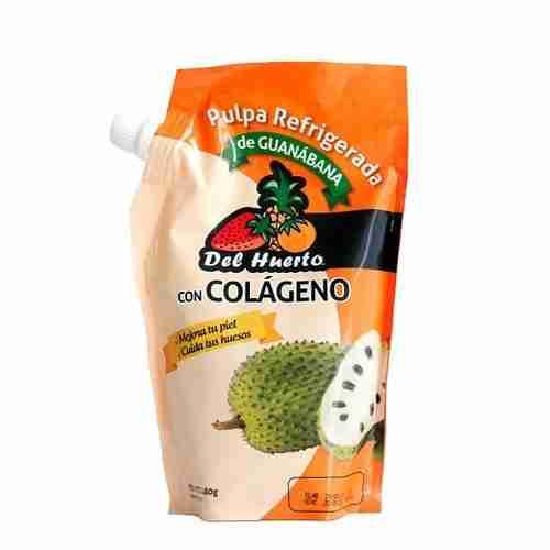 Pulpa con colágeno