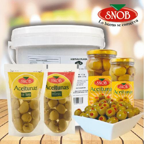 Proveedores de Aceitunas Verdes para hoteles y restaurantes | IBD Food Services
