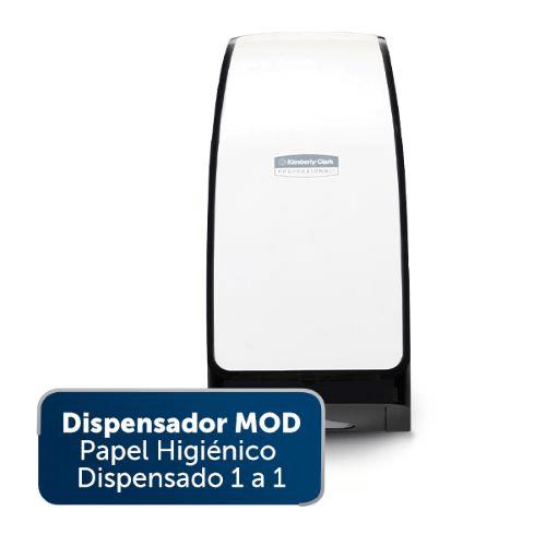 Dispensador MOD Papel Higiénico Dispensado 1 a 1