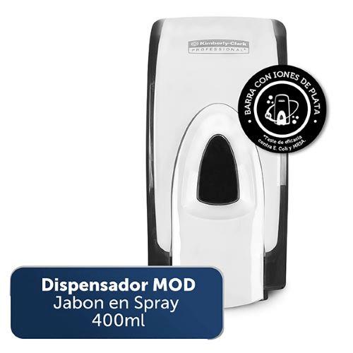 Dispensador MOD Jabón en Spray por 400 ml