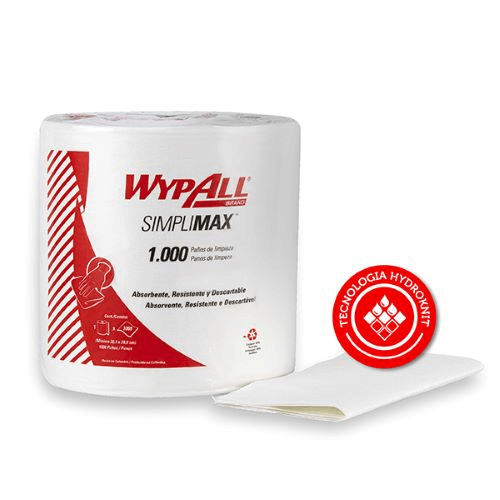 Paños de limpieza WypAll X50 Jumbo