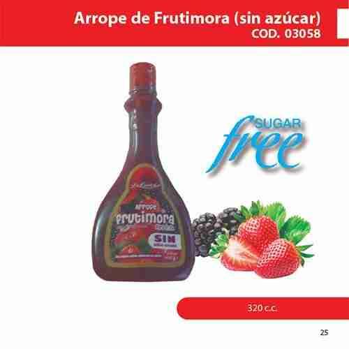 Arrope de frutimora sin azúcar