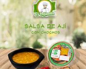 Salsa de Ají con chochos   Alimentos El Lojanito