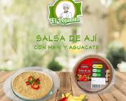 Salsa de Ají con maní y aguacate