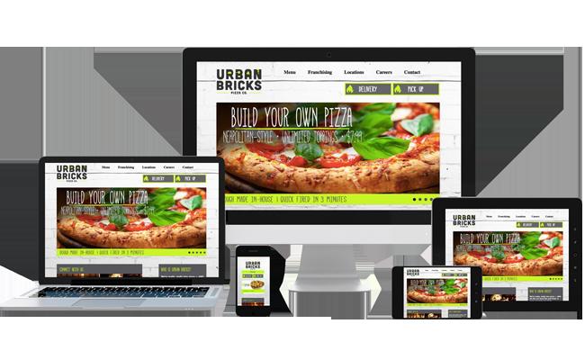 Diseño de páginas web para restaurantes. Hostelería Ecuador