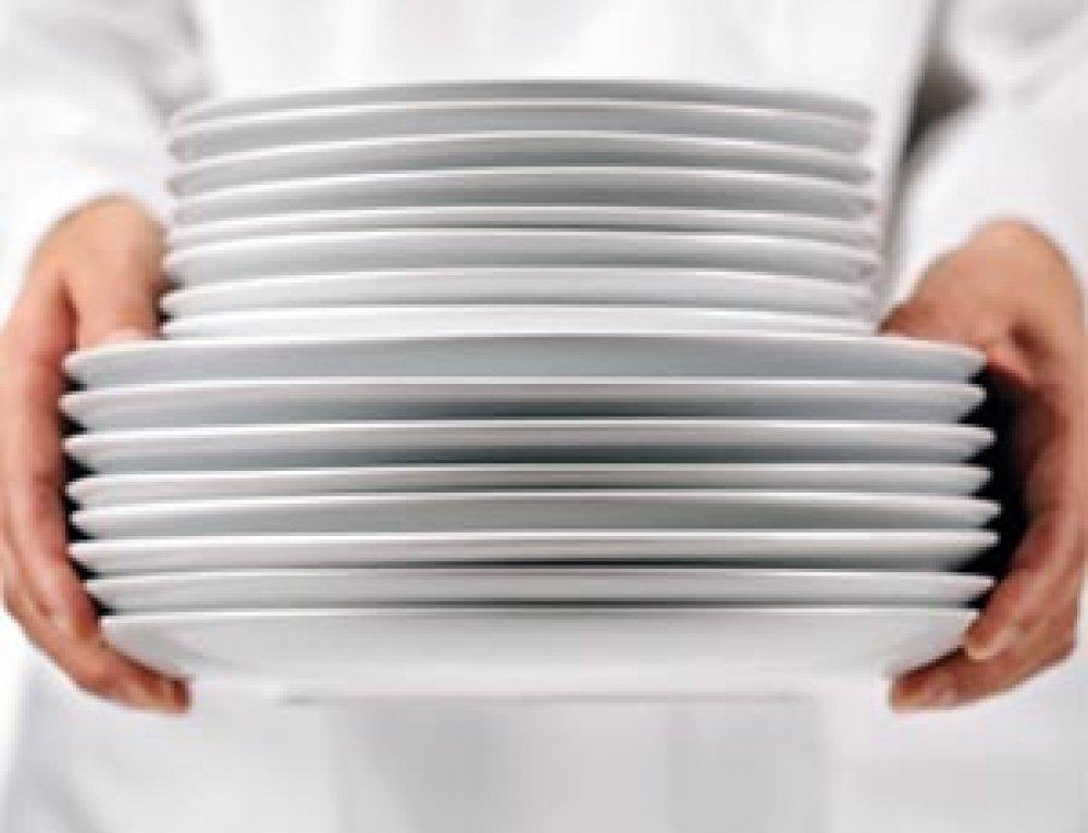 Manipulación y transportación de los platos