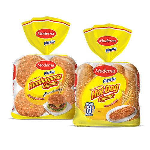 Bollería Moderna | Proveedores de pan de hamburguesa | moderna alimentos
