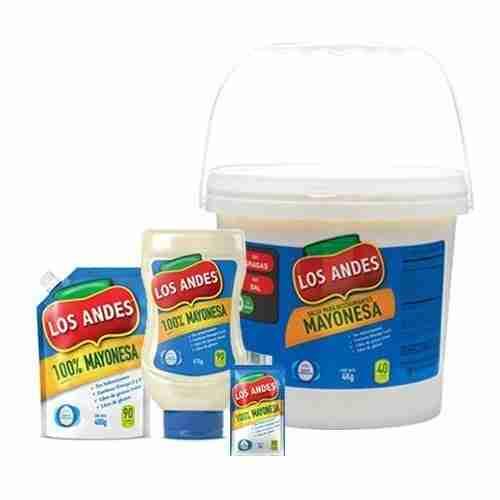 Mayonesa Los Andes | Proalco | Proveedores de mayonesa a granel