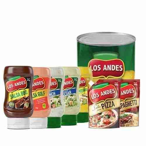 Salsa Especiales, Aderezos y Conservas Los Andes