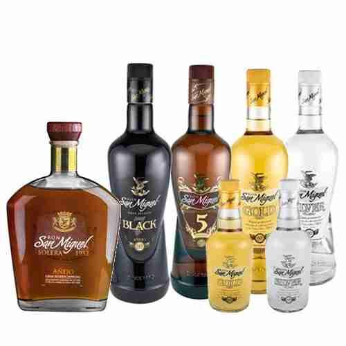 Ron San Miguel | Proalco | Proveedores de licores para hoteles y restaurantes