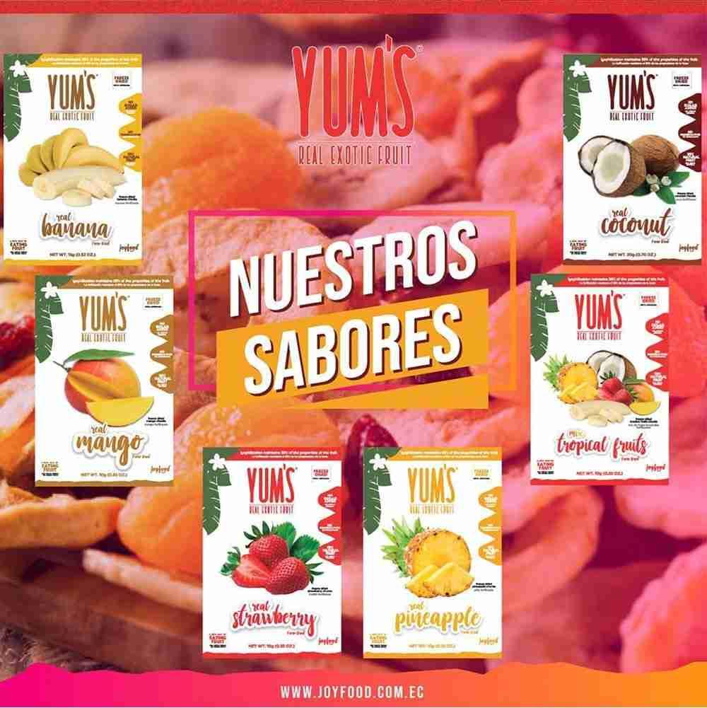 Yums | Proglobal | Proveedores de snacks para hoteles y restaurantes