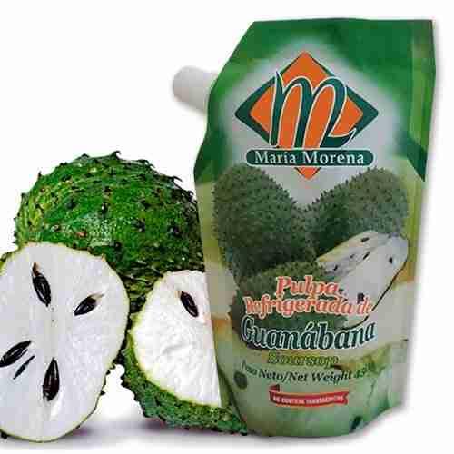 Pulpa refrigerada de guanábana