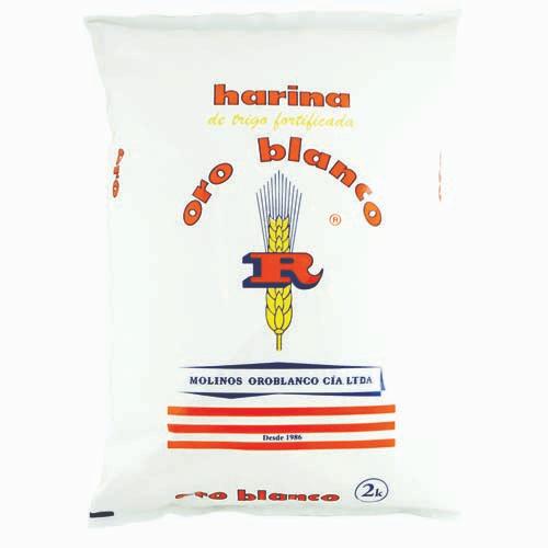 Harina de Trigo sin químicos 2kg