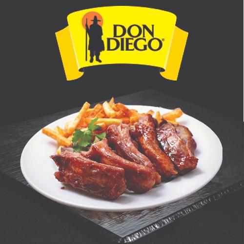 Costillas Asadas Don Diego | Proveedores de costillas de cerdo para hoteles y restaurantes | Hosteleria Ecuador